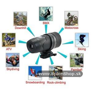 kamera pouzitie